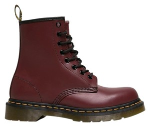 Dr. Martens 150722 All That Ankle-high Red Boots