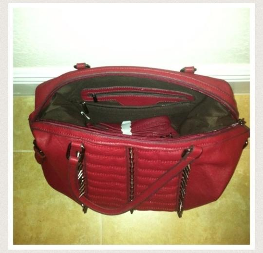 Unknown Satchel in red