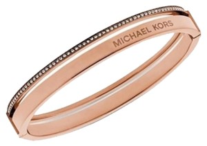 Michael Kors Rose Gold Tone Hinge Bangle (BRAND NEW!!)