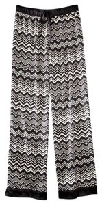Missoni for Target Relaxed Pants Black and White