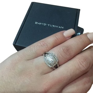 David Yurman Authentic David Yurman Pave Diamond Ring Size 7