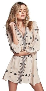 Free People short dress Beige on Tradesy