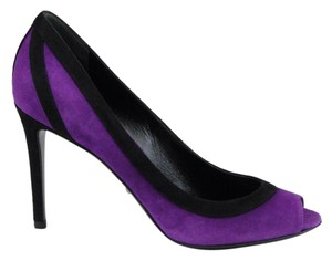 Gucci Gucci; 347291; Purple Black 5270 Pumps
