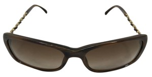 Chanel $$$SALE $$$$-Skinny Brown Chain Collection Chanel Sunglasses