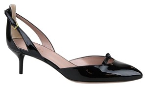 Gucci Patent Leather Pump Black 1000 Pumps