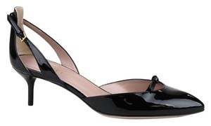 Gucci Patent Leather Black Black 1000 Pumps