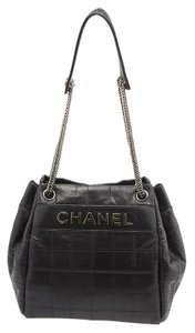 Chanel Cc Quilted Shoulder Bag