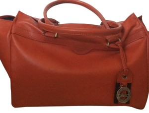 Longchamp Satchel in Paprika (orange)