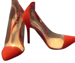 ShoeDazzle Red-orange Formal
