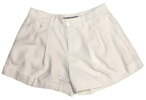 Ralph Lauren Collection Label Saks Fifth Avenue Dress Shorts Ivory