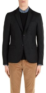 Gucci Wool Stretch Black Blazer