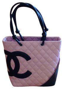 Chanel Satchel in Pink & Back
