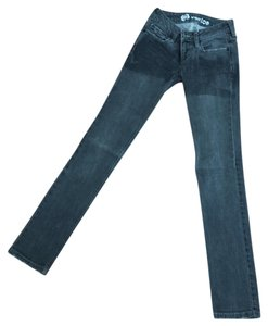Bullhead Denim Co. Skinny Punk Fall Skinny Jeans-Dark Rinse
