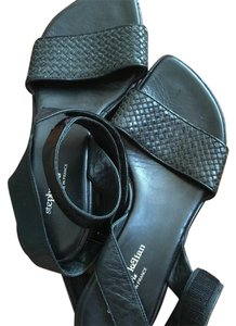 Stephane Kelian Black Sandals