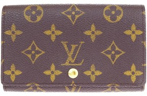 Louis Vuitton Tresor Bifold Wallet Purse Monogram Leather BN M61730 Men