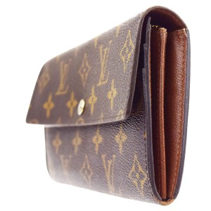 Louis Vuitton Portefeuille Sarah Long Bifold Wallet Monogram M61734