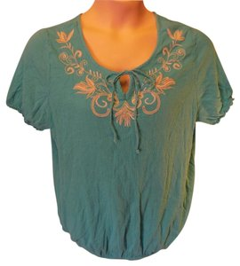 Lane Bryant Plus Size Casual Artsy Tunic