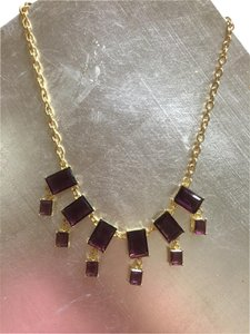Brooks Brothers Brooks Brothers Gold and Amethyst Necklace