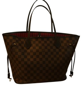 Louis Vuitton Tote in Brown And Tan