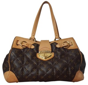 Louis Vuitton Etoile Monongram Shopper Satchel in Brown