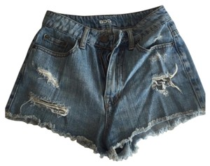 BDG Cut Off Shorts Blue
