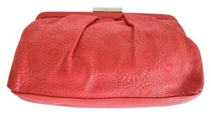 Oscar de la Renta Red Clutch