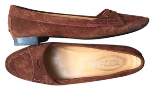 Tod's Loafers Brown Flats