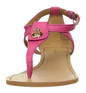 Coach Ruby pink Wedges