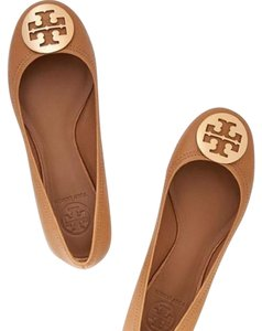 Tory Burch Royal tan and gold Flats