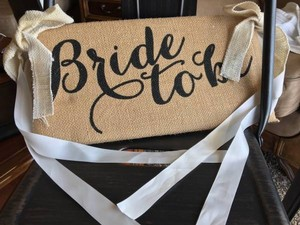 Adorable Bride To Be Sign