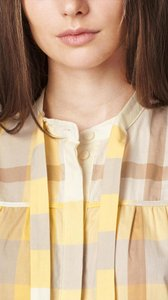 Burberry Brit Polo Top Saffron Yellow