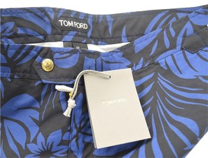 Tom Ford Tom Ford Navy & Black Swimming Trucks Shorts Bathing Suit Size 48 Euro