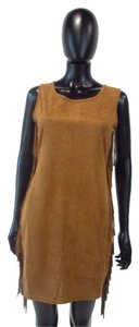 Wish short dress Camel Brown Western Fringe Theme Cowgirl on Tradesy