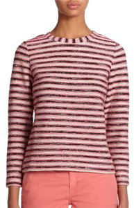 Tory Burch Striped Terry Sweater