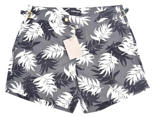 Tom Ford Tom Ford Black & White Floral Swimming Trucks Shorts Bathing 48 Euro