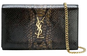 Saint Laurent Woc Gold Hardware Monogram Rare Cross Body Bag