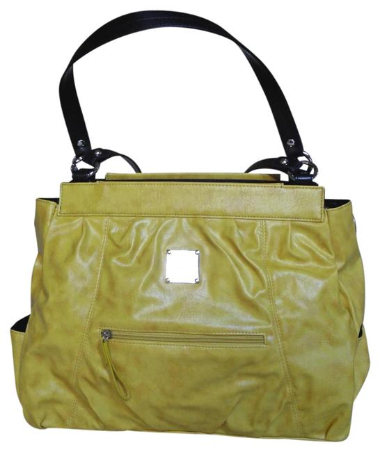 Item - Raye New In Pkg Retired Prima Size Shell Yellow Faux Leather Satchel