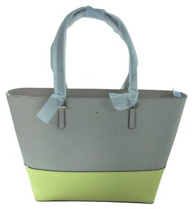 Kate Spade Tote in crisp linen/lemonade