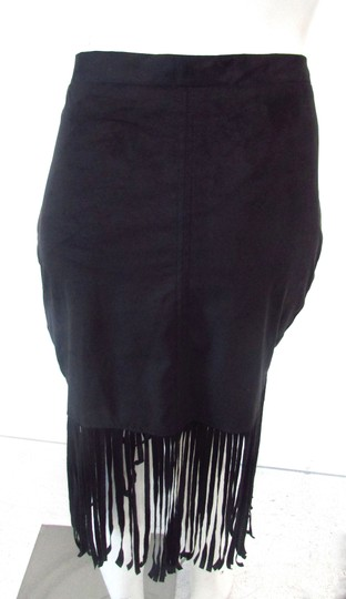 Faux Suede Microsuede Western Fringe Mini Mini Skirt 53% Off #19343261 - Skirts high-quality