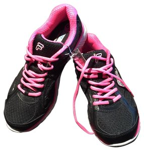 Fila Running Pet Smoke Free Mesh Black & Pink Athletic