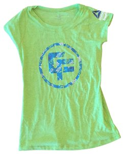 Reebok T Shirt lime green