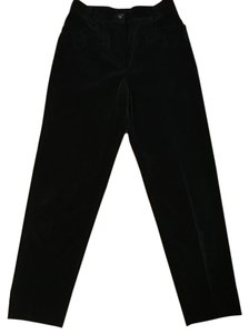 Escada Straight Pants Black