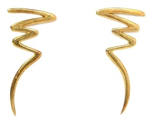 Tiffany & Co. Tiffany & Co. Paloma Picasso 18k Gold Scribble Earrings