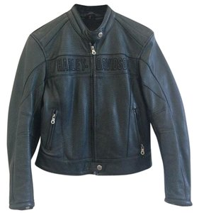 Harley Davidson Leather Motorcycle Women's Small Motorcycle Jacket