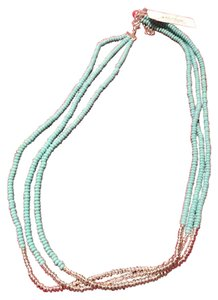 Lucky Brand Beaded Necklace Turquoise JLRY3412