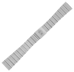 Cartier Cartier Santos 18-14mm Stainless Steel Men's Watch Band w. (13354)