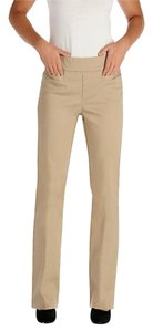 Lee Pull On Work Career Petite Khaki/Chino Pants Khaki