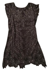 Free People Lace Shine Boho Date Dress