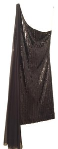 Guess By Marciano Sequin One Shoulder Dress