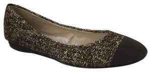 Jean-Michel Cazabat Brown Suede Tweed Flats